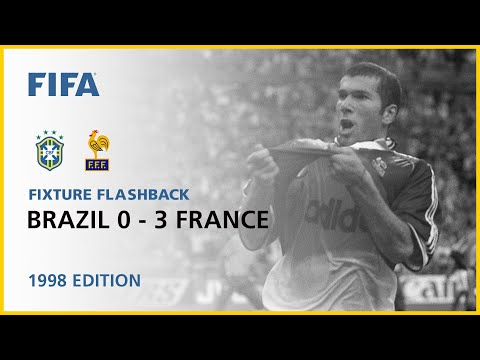 Brazil 0-3 France | France 1998 | Fixture Flashback
