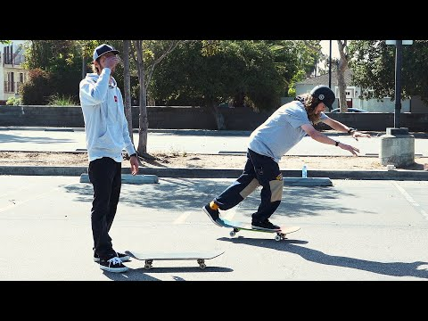 Andy Anderson Teaches Chris Roberts Freestyle Tricks