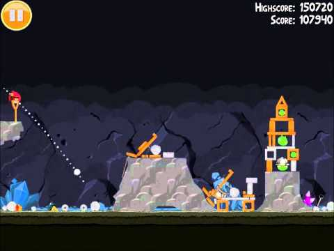 Official Angry Birds Walkthrough Mine And Dine 16-3