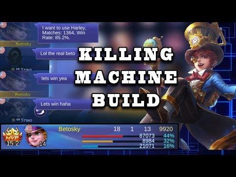 New Updated Harley Build | Mobile Legends Bang Bang