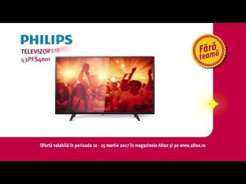 Reclamă ALTEX - TV Philips - martie 2017