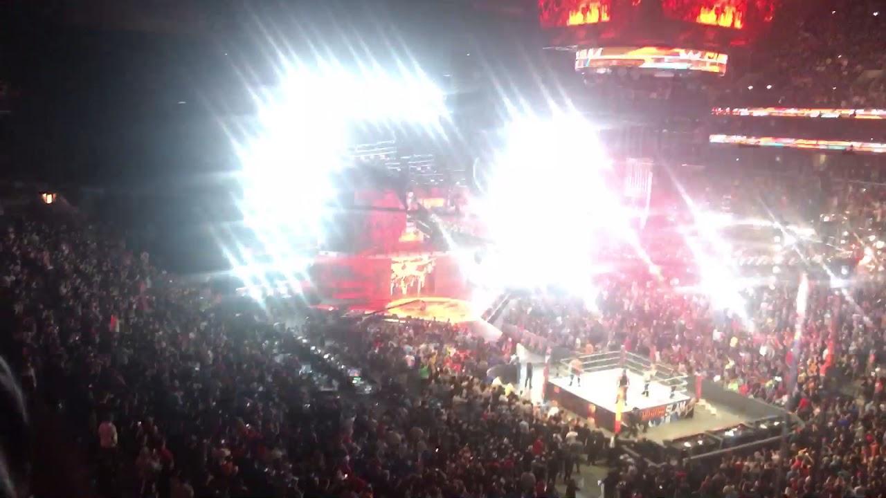 Brock Lesnar Entrance SummerSlam 8/20/17 - YouTube