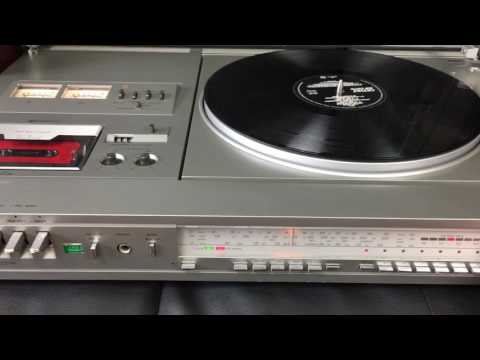 just2ndhandland store Panasonic Stereo Music Centre SG4000 HiFi Turntable Radio Cassette  Japan