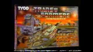 1985 Transformers Electric Train Battle Set Commercial