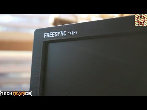 AOC G2460PF 144Hz Freesync Monitor Review