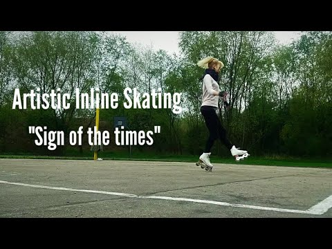 Artistic Inline Skating  - Sign of the Times