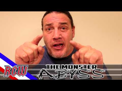 """""""The Monster"""" Abyss has some words for San Antonio wrestling fans and about RCW!"""
