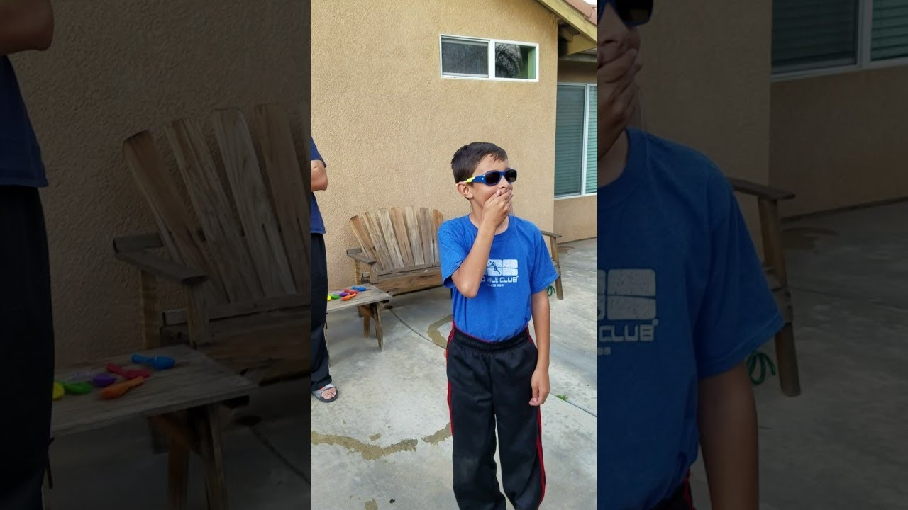 Boy Receives Enchroma Glasses From Father || ViralHog