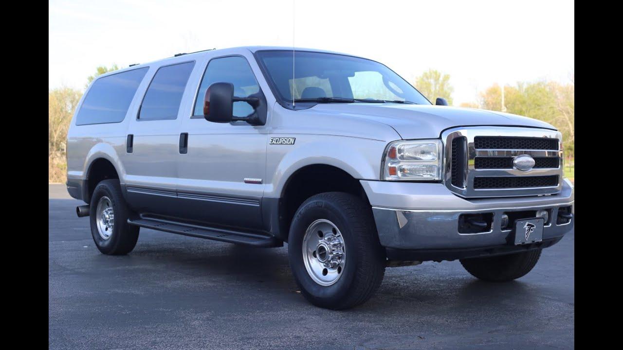 2005 Ford Excursion Diesel Prior Police Vehicle Walk Around Part 1 For Sale On Ebay Youtube
