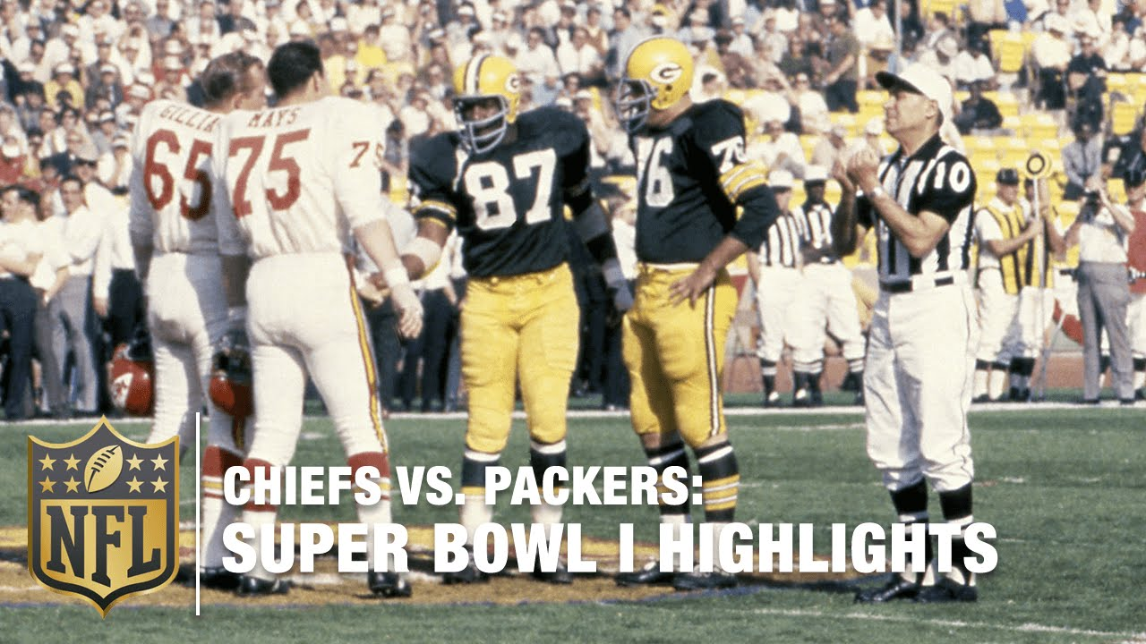 Image result for 1st super bowl chiefs and packers you tube
