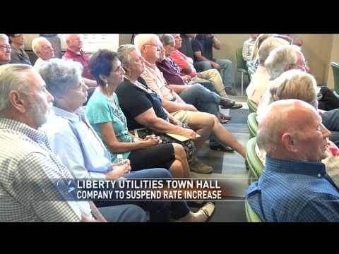 Liberty Utilities to suspend rate increase