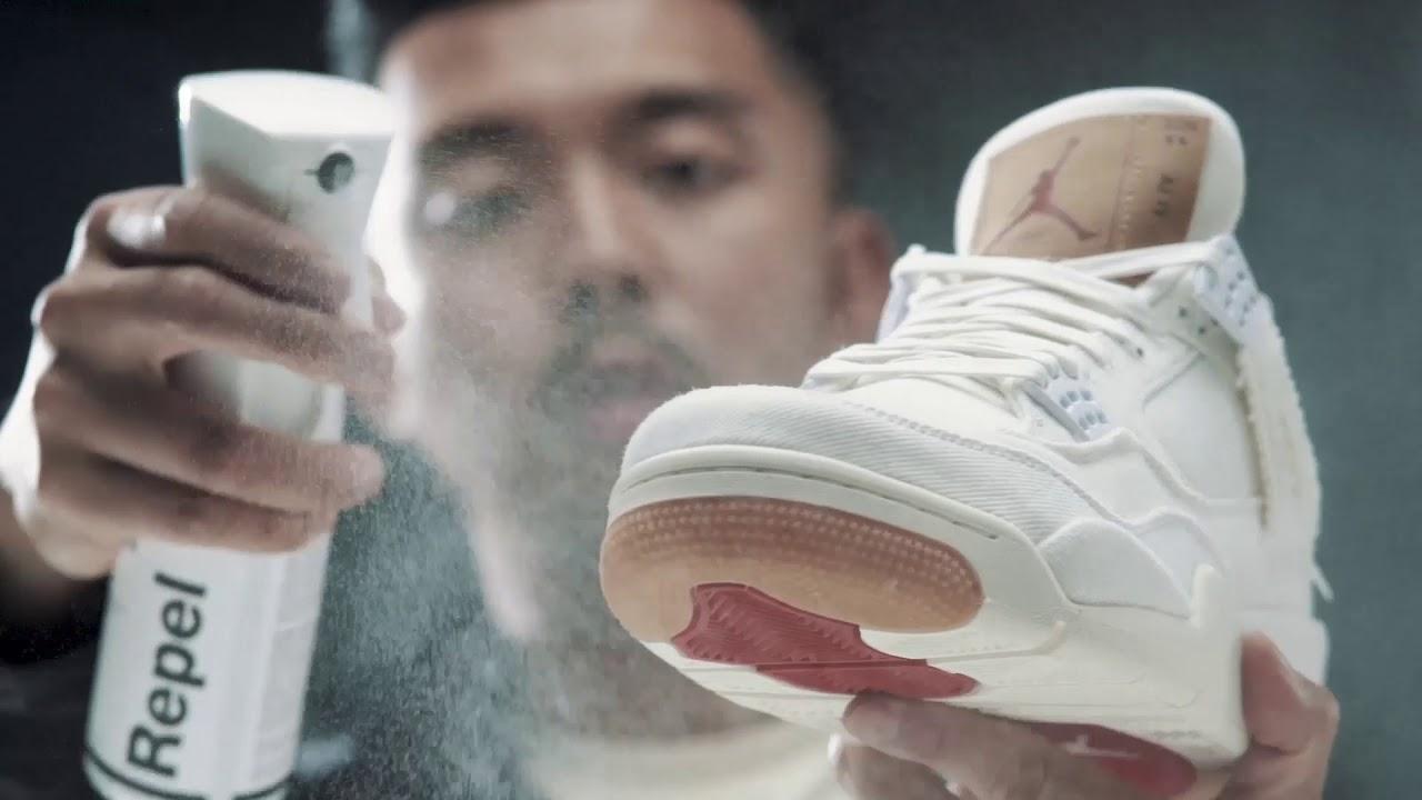Jason Markk Shoe Repel Spray - YouTube