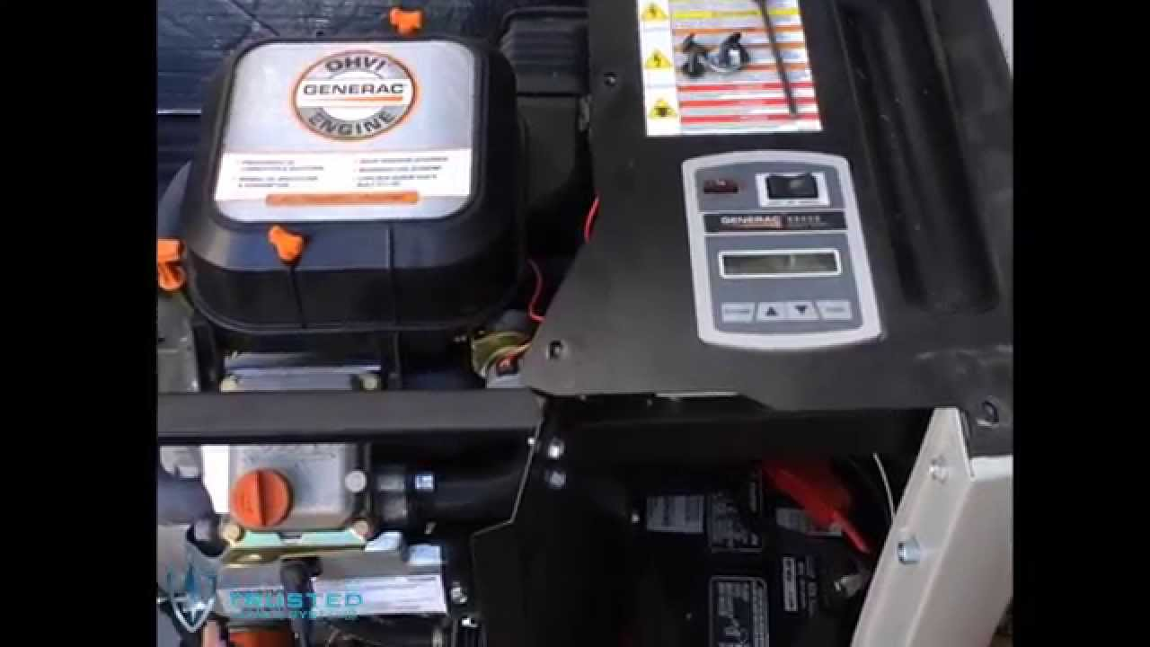 Generac Cold Weather Kit Installation