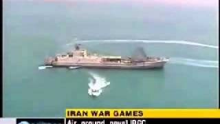 IRAN NAVY WARGAME U.S.A. 5TH FLEET AIRCRAFT CARRIER KILLER TACTICS