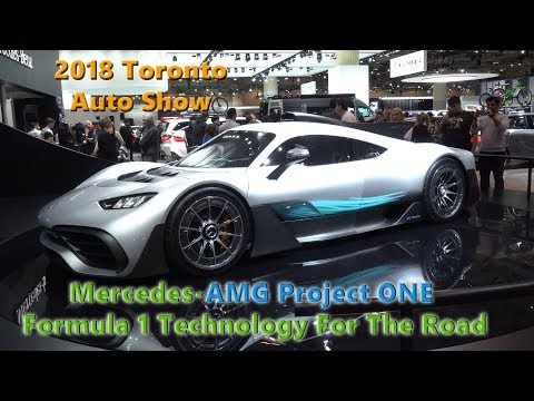 Mercedes AMG Project ONE Formula 1 Technology For The Road 2018 Toronto Auto Show