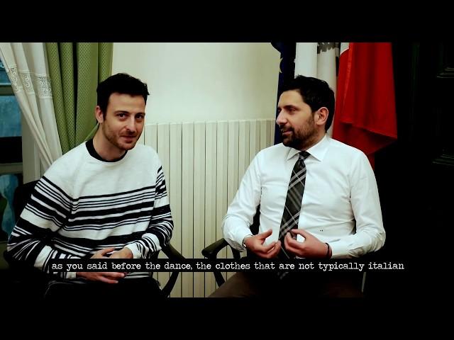 Meeting with Mercato S.Severino's Mayor Antonio Somma