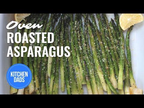 Roasted asparagus with lemon and parmesan how to roast asparagus roasted asparagus with lemon and parmesan how to roast asparagus kitchen dads cooking ccuart Choice Image