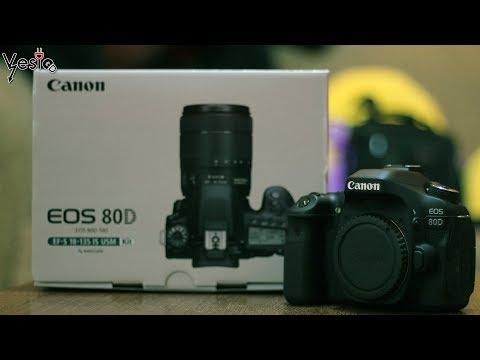 Moja nova kamera Canon 80D