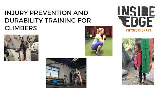Injury prevention and durability strategies for climbers and boulders (Revised edition)