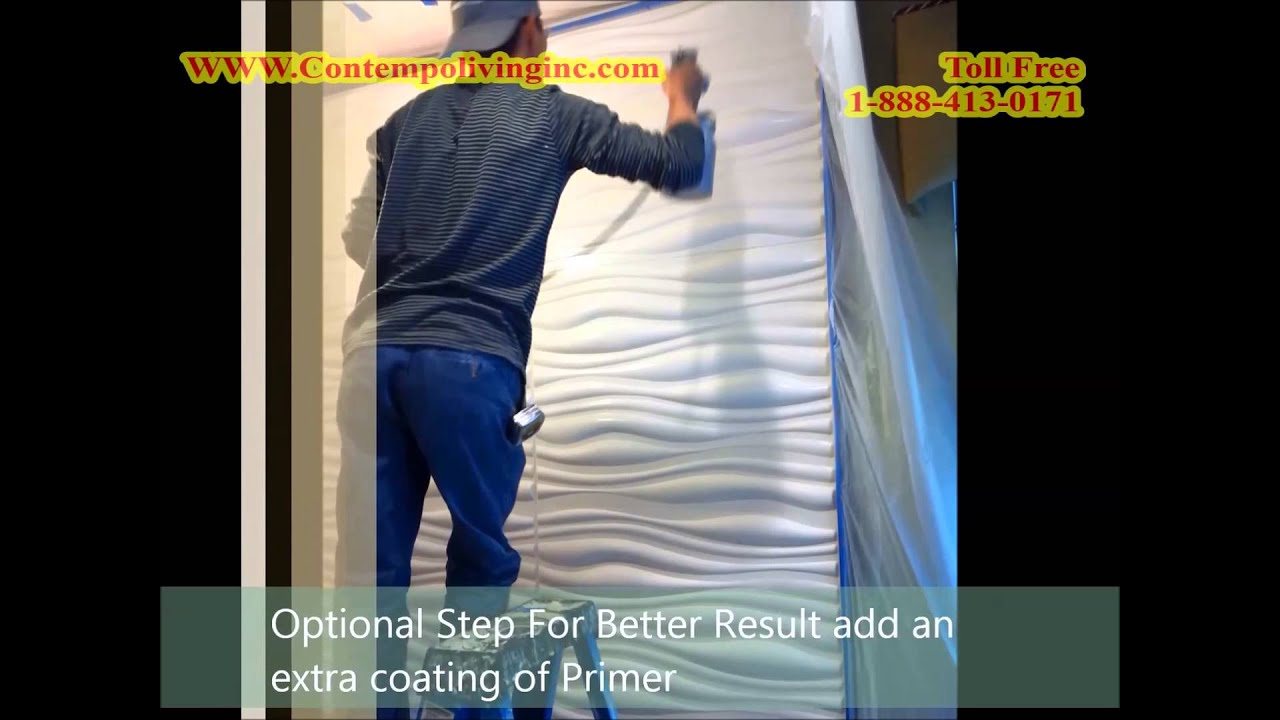 3D Wall Installation Guide - YouTube