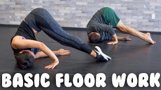 Beginner Dance Floor Work   Basic Moves and Combo @MissAuti