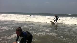 Вспоминая уроки серфинга на Бали
