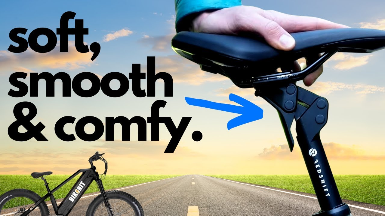 Suspension Seat Post on your Ebike - 5 Things to Know