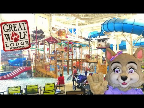 Great Wolf Lodge in Minnesota Water Park Tour & MagiQuest
