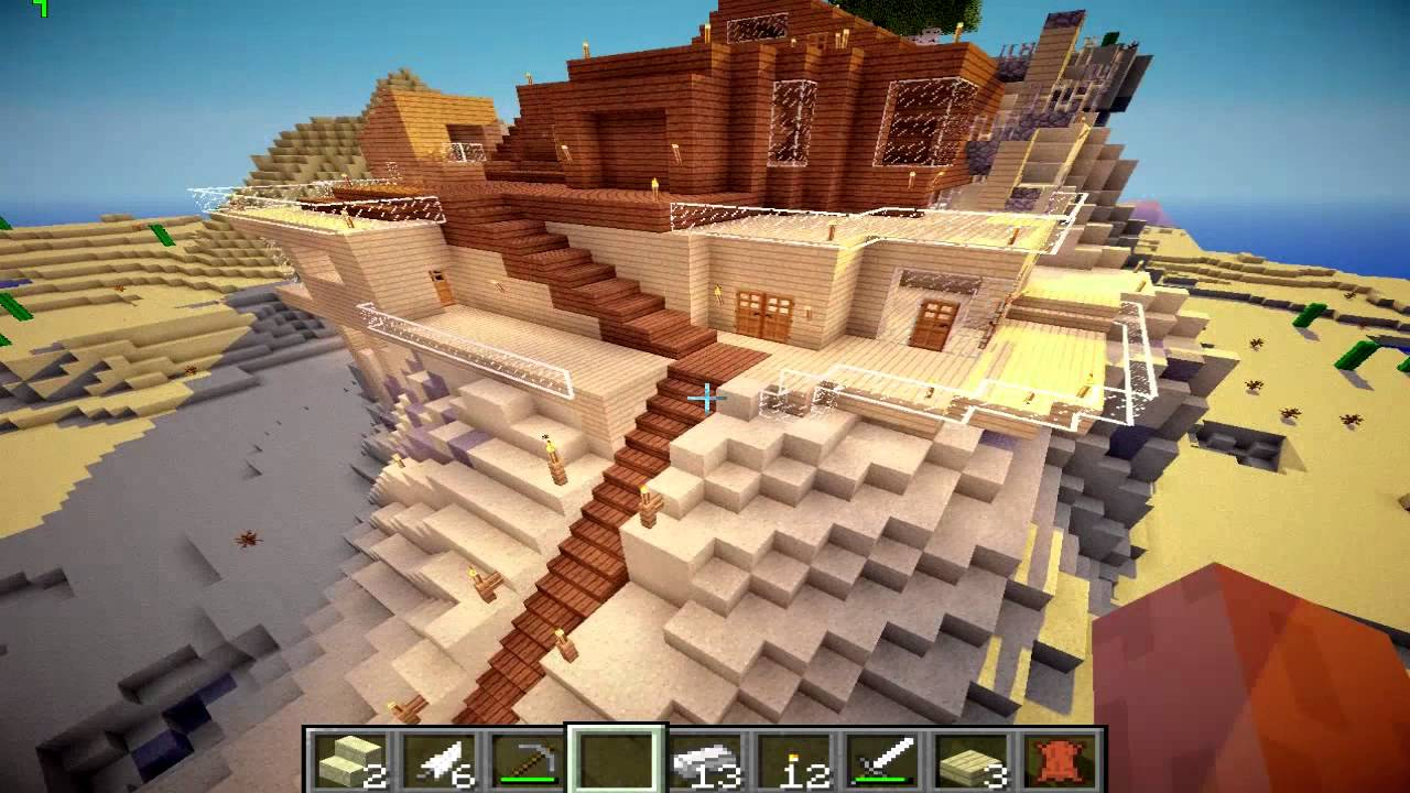 Case Di Montagna Minecraft : Minecraft villa sulla montagna download youtube