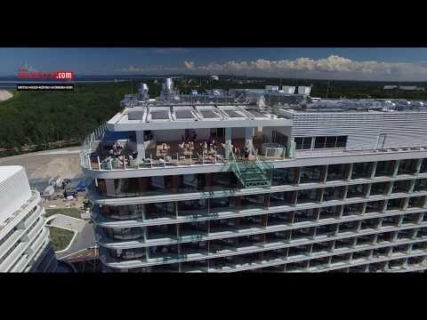 Radisson Blu Resort w Świnoujściu film z drona nad hotelem