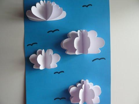 Детское Творчество - Небо с облаками