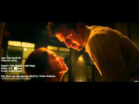 Agar Tum Saath Ho FULL AUDIO Song   Tamasha   Ranbir Kapoor, Deepika Padukone   FR. Tusher