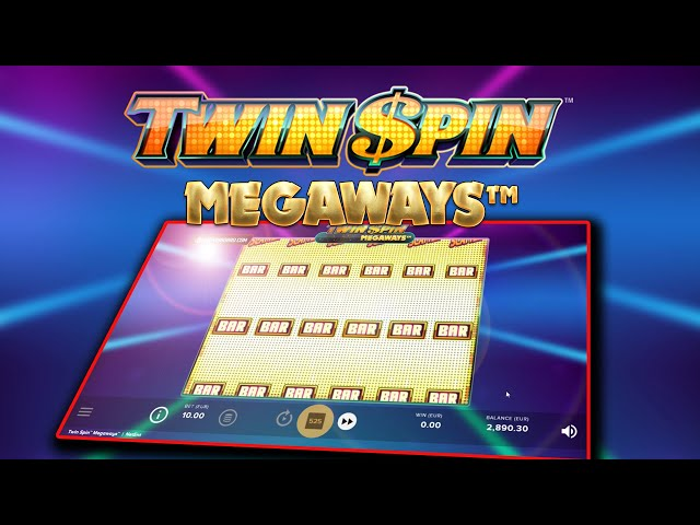 TWIN SPIN MEGAWAYS (NETENT) BASE GAME MEGA WIN