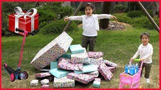 살면서 한번쯤 받아보고 싶은 엄청많은 선물!! 서은이의…