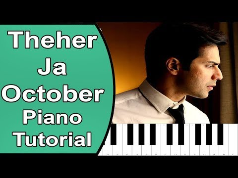 theher ja | october | piano tutorial with notes