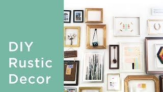 7 DIY Rustic Home Decor Ideas