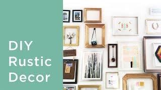 7 Diy Rustic Home Decor Ideas