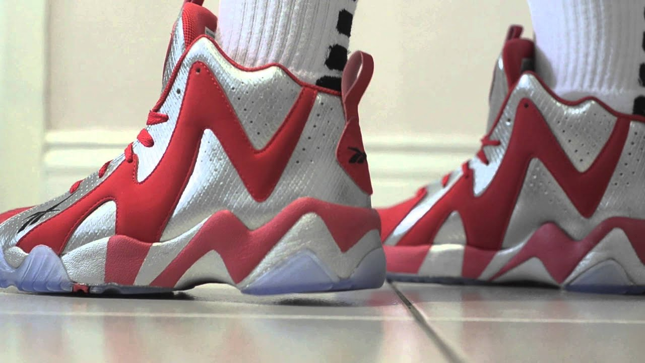 Reebok Kamikaze II In depth On Feet Review Fish Market - YouTube 124cedb79