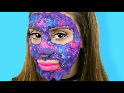 Thumbnail: DIY Galaxy Slime Peel-Off Face Mask!