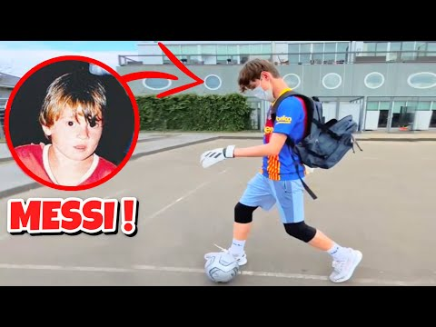 MESSI GOING TO SCHOOL AS A KID #Shorts