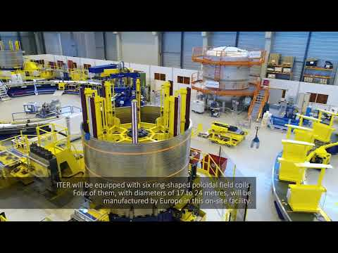 ITER by Drone (April 2018)