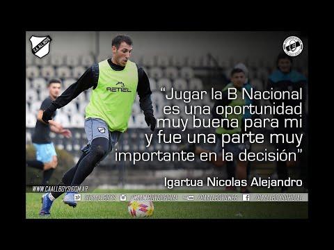 Nicolás Igartúa | Incorporación de All Boys
