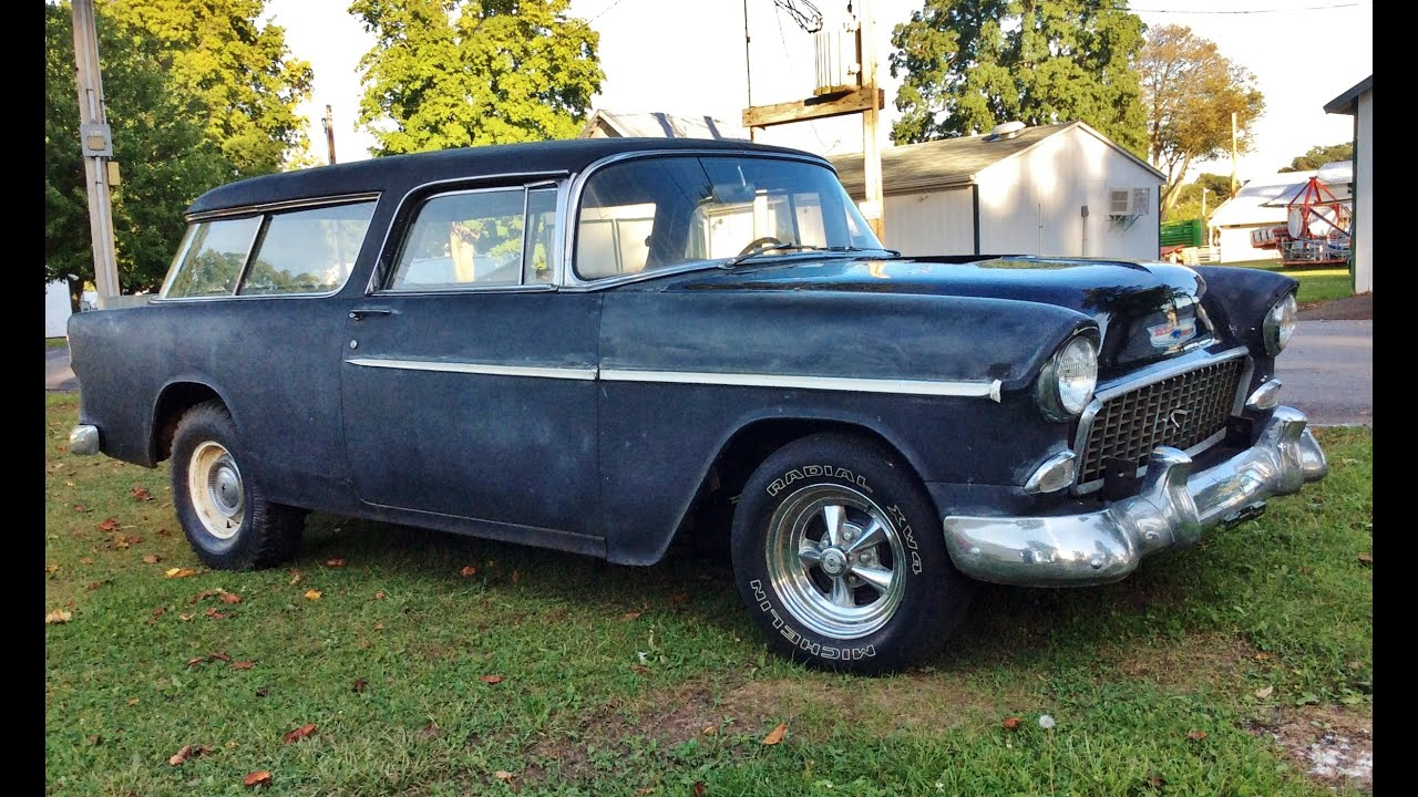 1955 Chevrolet Nomad FOR SALE - YouTube