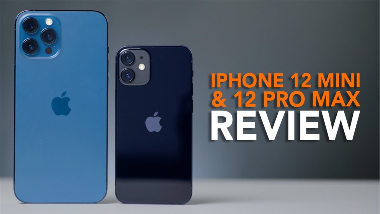 iPhone 12 mini en iPhone 12 Pro Max review: kleinste en grootste iPhone getest