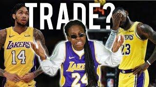 SHOULD WE TRADE BRANDON INGRAM? LEBRON FANS WANT HIM GONE!! (Lakers Lab)