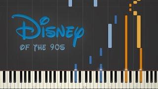 Disney 90's Nostalgia | Synthesia Piano Medley