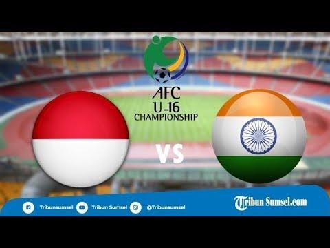 Prediksi dan Live Streaming Indonesia vs India Piala Asia U16 di MNCTV