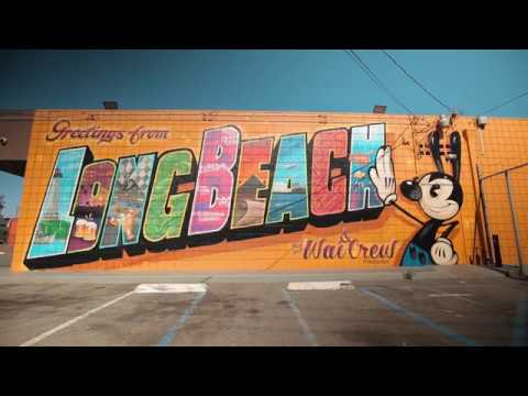 This is Long Beach, California