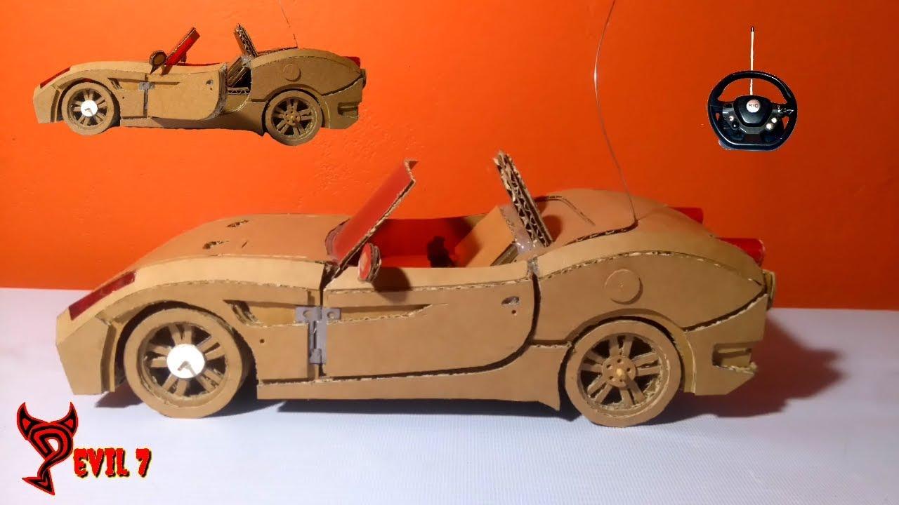 Cómo Hacer Un Carro De Carton Radio Control Ferrari California