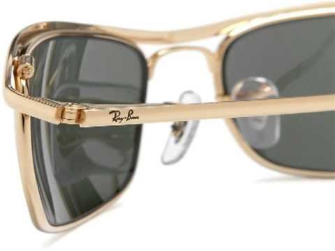 ray ban rb 3119 olympian metal frame sunglasses all colors and size